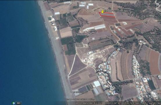 Большой Строительный Участок возле Моря в Районе Gialia