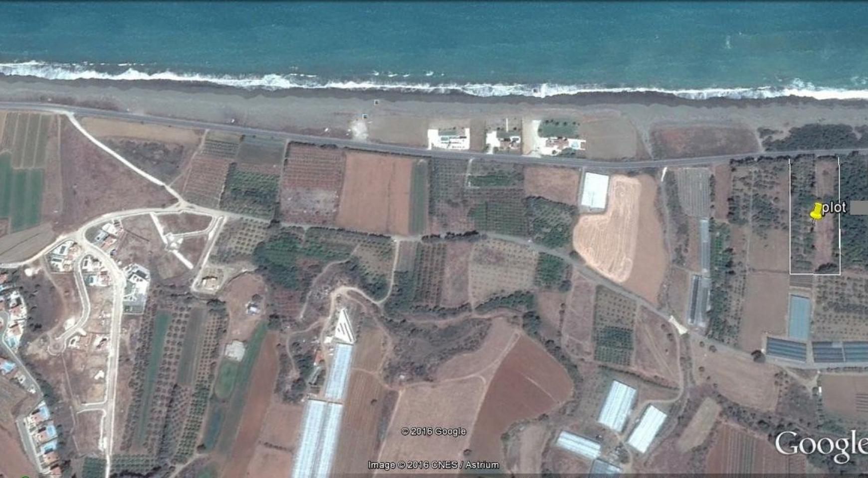Большой Строительный Участок возле Моря в Районе Gialia - 2