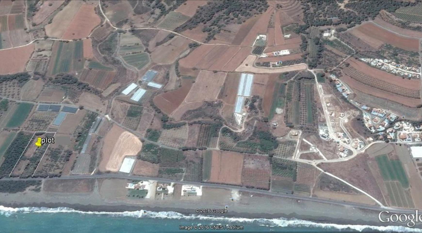 Большой Строительный Участок возле Моря в Районе Gialia - 5