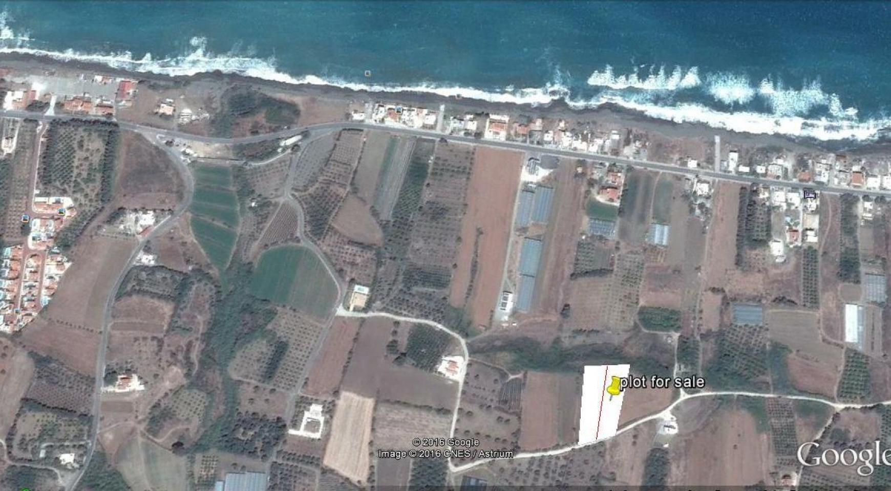 Большой Строительный Участок с Открытым Видом на Море - 3
