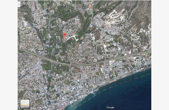 Большой Строительный Участок с Прямым Видом на Море в Районе Mesovounia