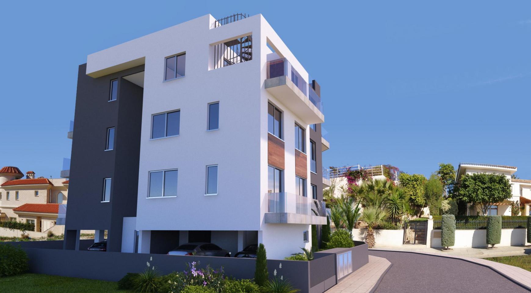 Новая 2-Спальная Квартира в Современном Здании в Районе Potamos Germasogeia - 5