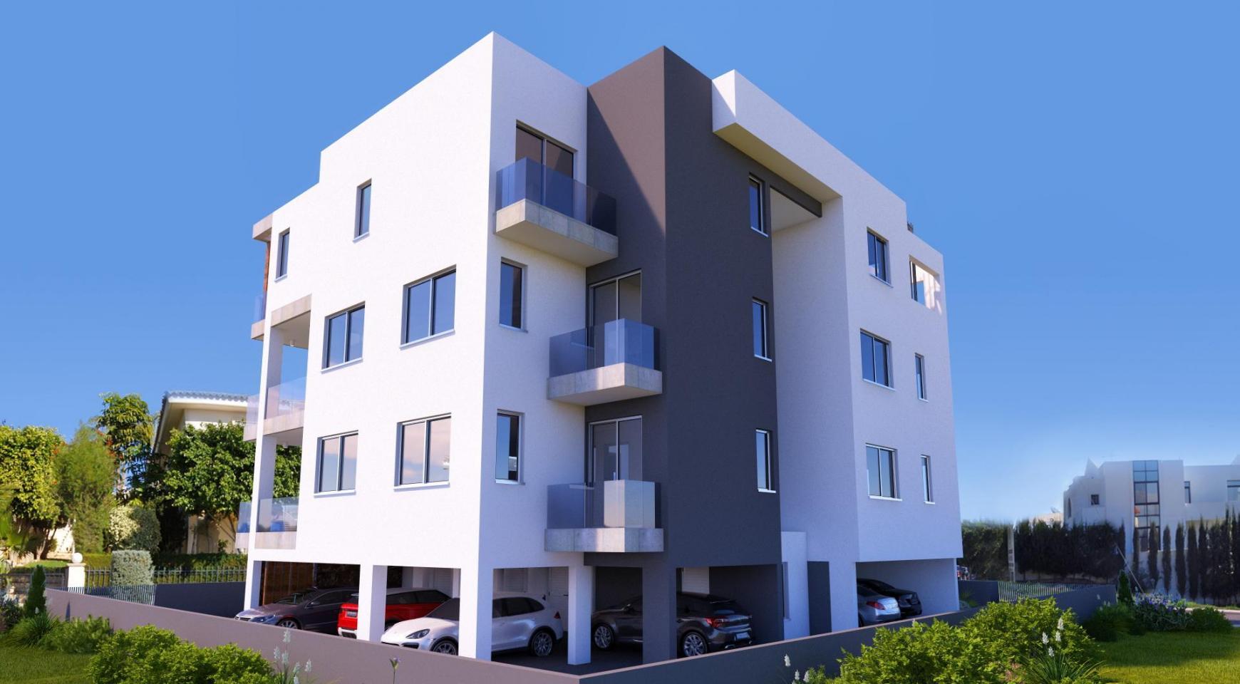 Новая 2-Спальная Квартира в Современном Здании в Районе Potamos Germasogeia - 4