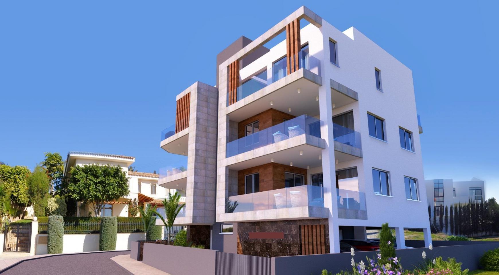 Новая 3-Спальная Квартира в Современном Здании в Районе Potamos Germasogeia - 3