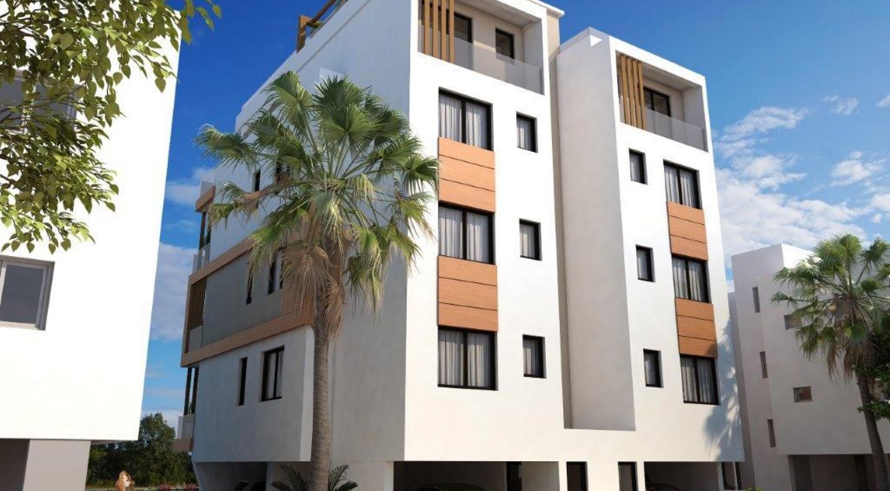 Новая 2-Спальная Квартира в Районе Enaerios - 8