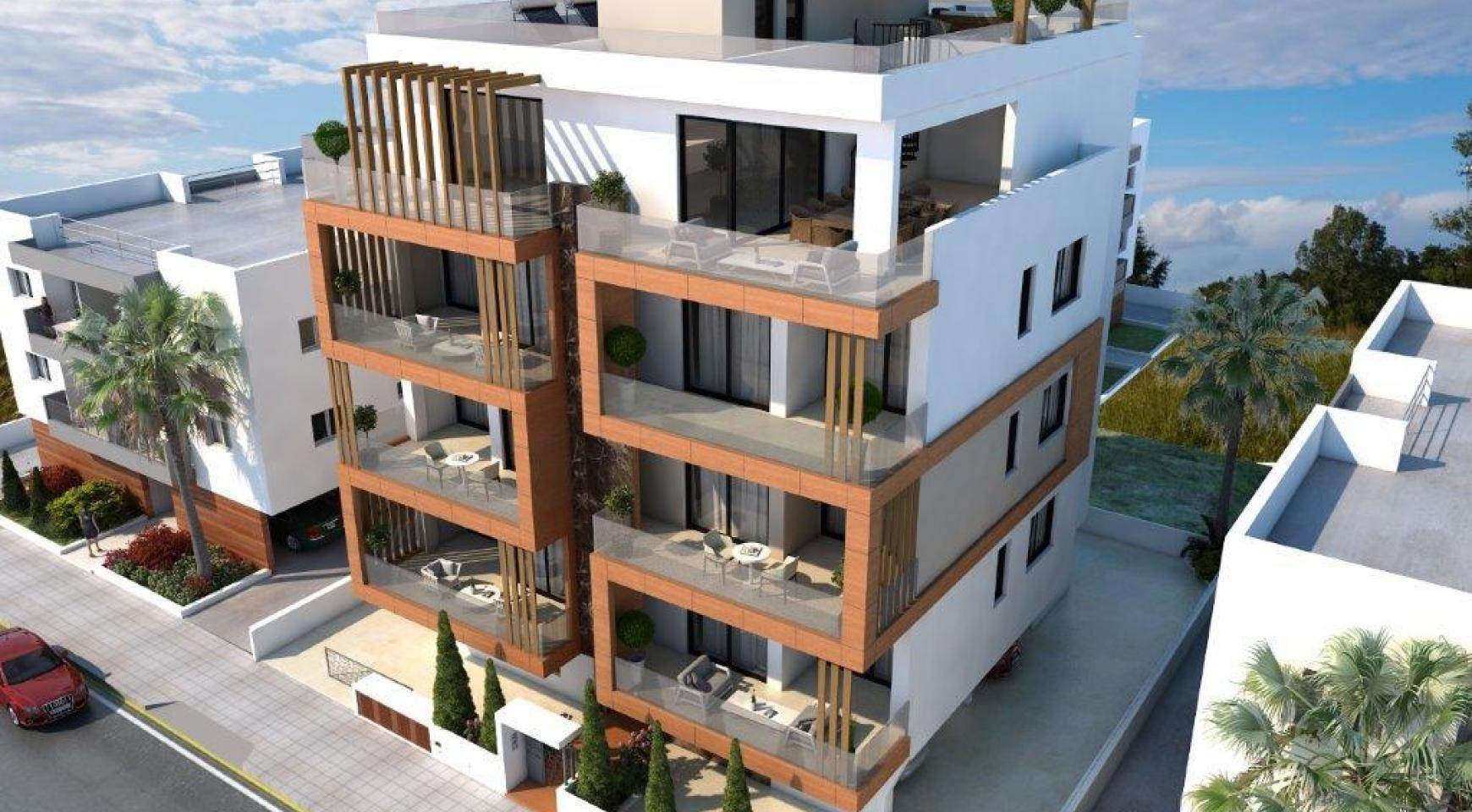 Новая 2-Спальная Квартира в Районе Enaerios - 2