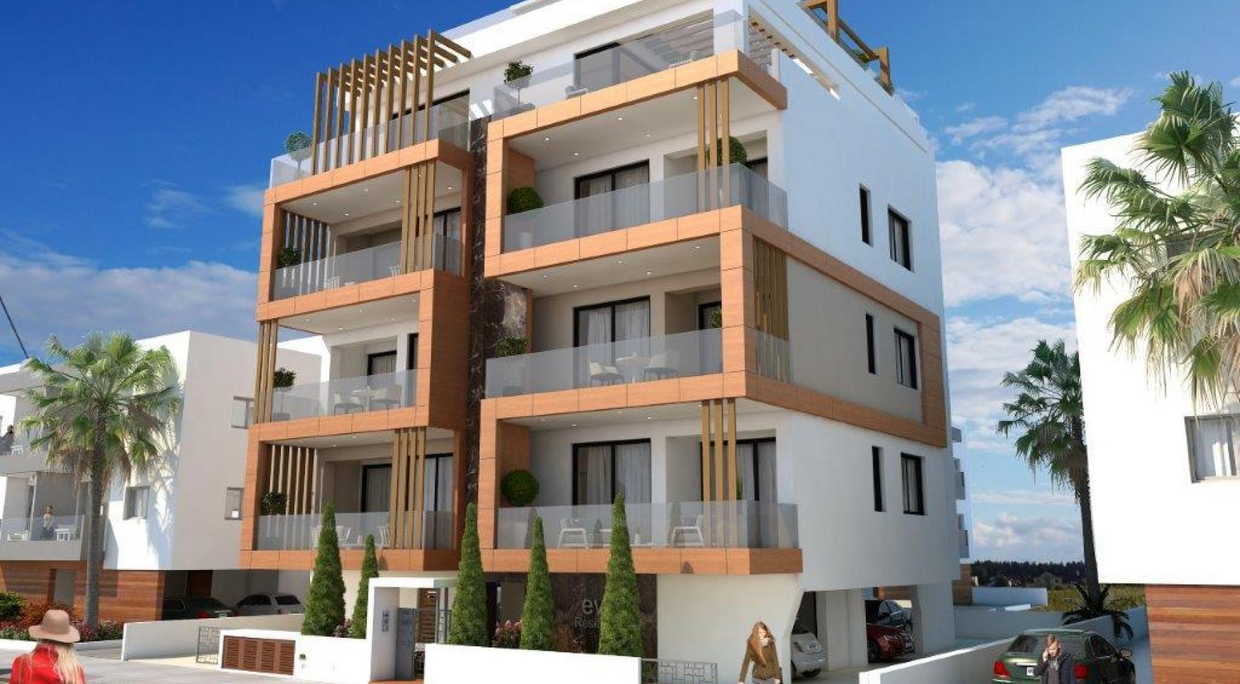 Новая 2-Спальная Квартира в Районе Enaerios - 9