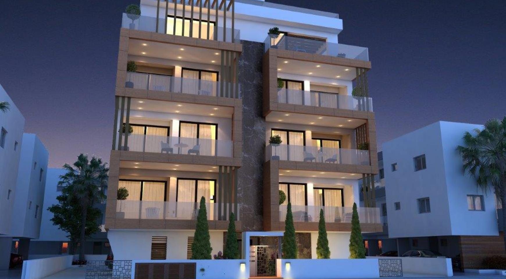 Новая 2-Спальная Квартира в Районе Enaerios - 1