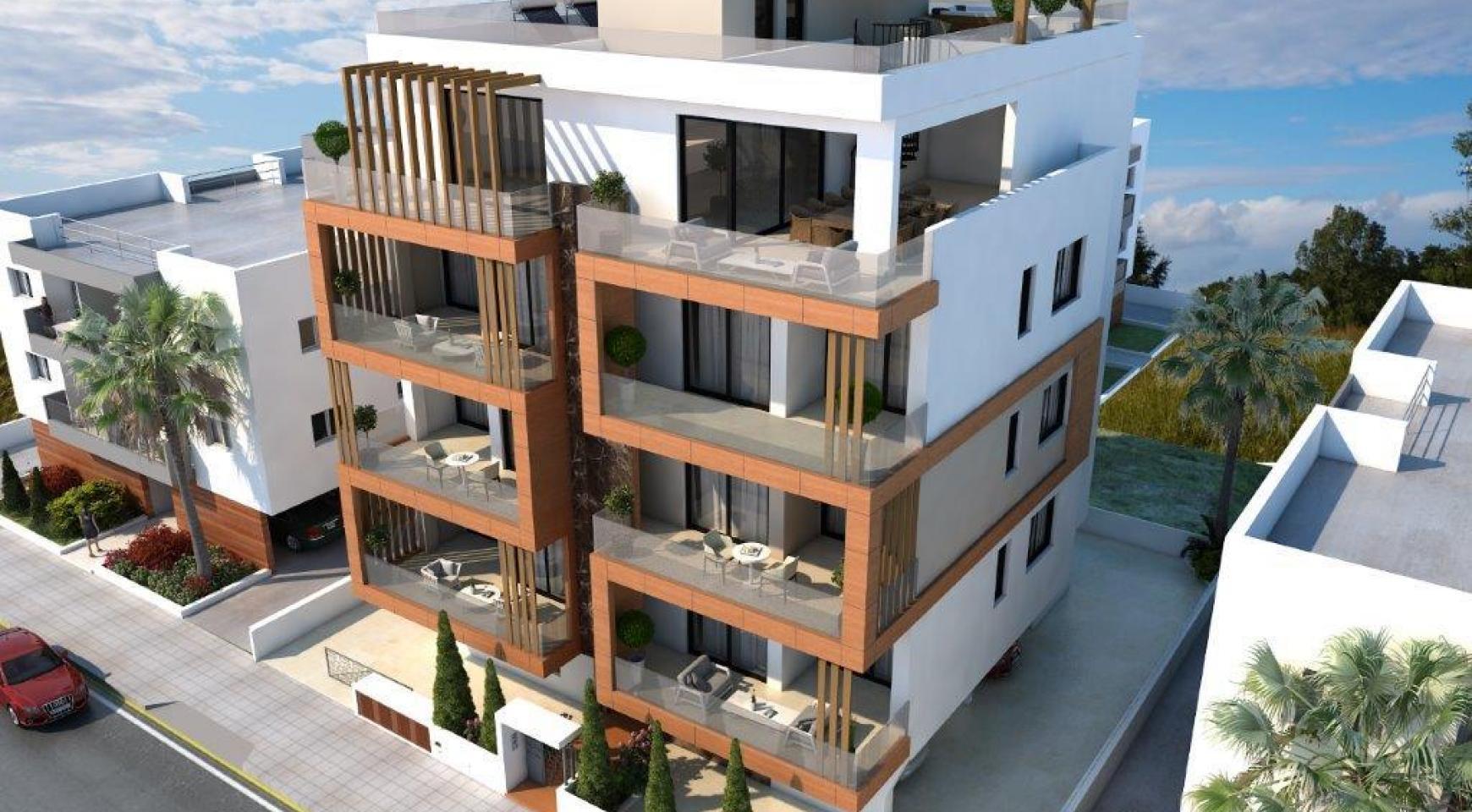 Новая 2-Спальная Квартира в Районе Enaerios - 3