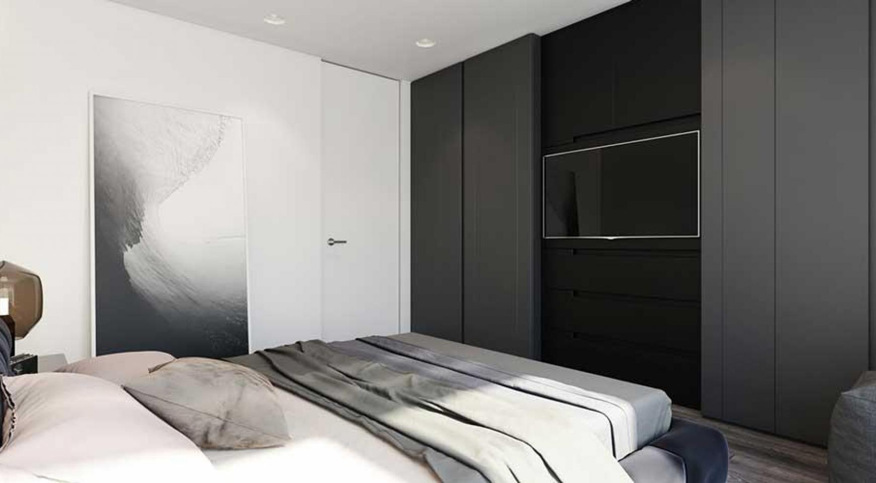 Новая 2-Спальная Квартира в Районе Enaerios - 12