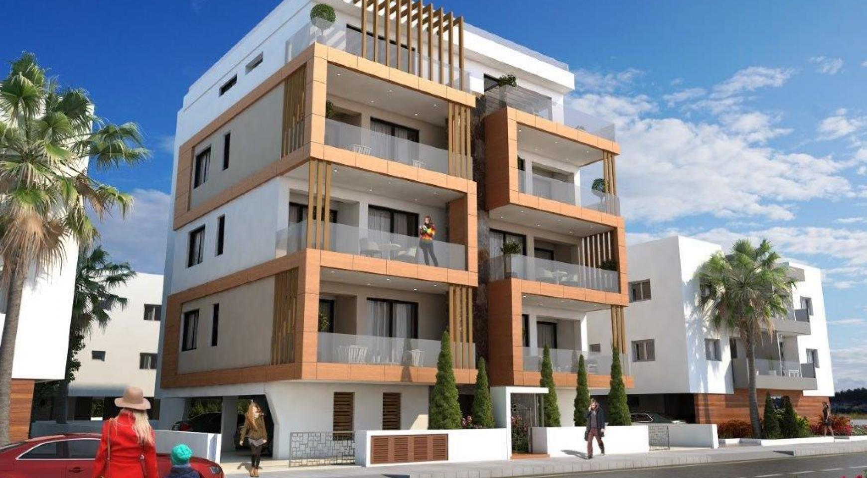 Новая 2-Спальная Квартира в Районе Enaerios - 7