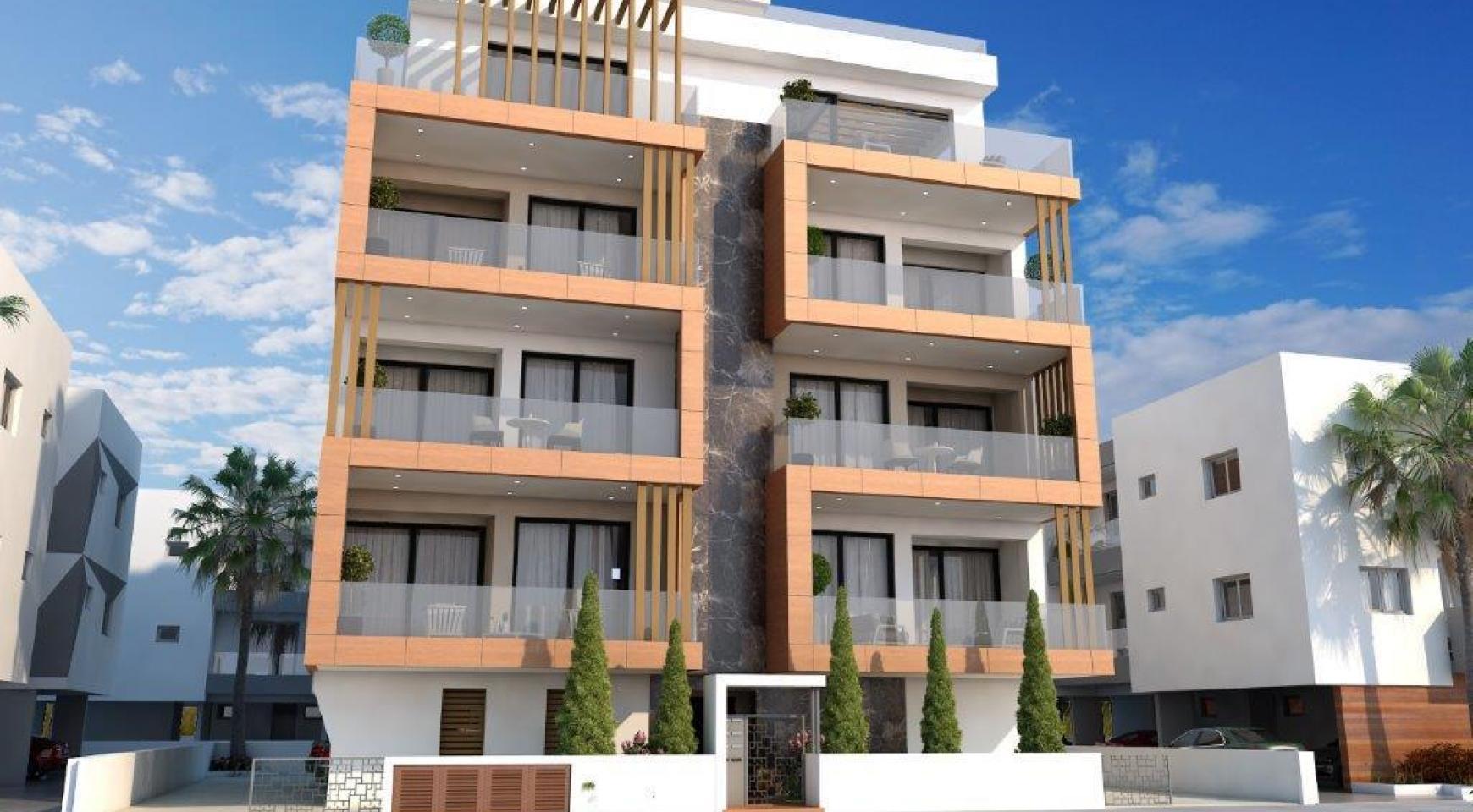 Новая 2-Спальная Квартира в Районе Enaerios - 4