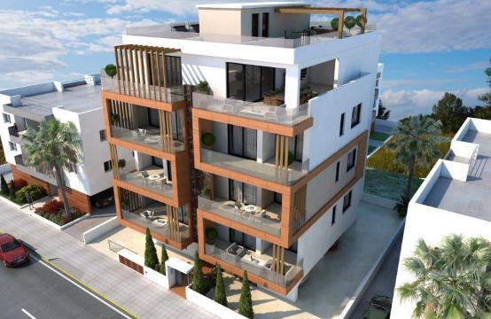 Новый 3-Спальный Пентхаус с Видом на Море в Районе Enaerios