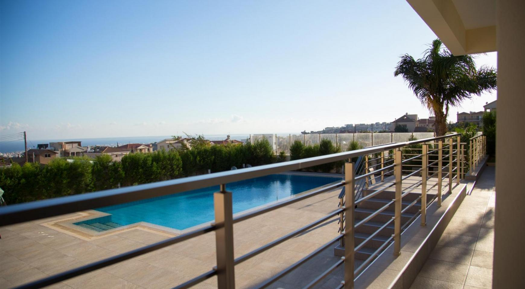Элитная Современная Вилла с Захватывающим Видом на Море в Районе  Sfalaggiotissa - 5
