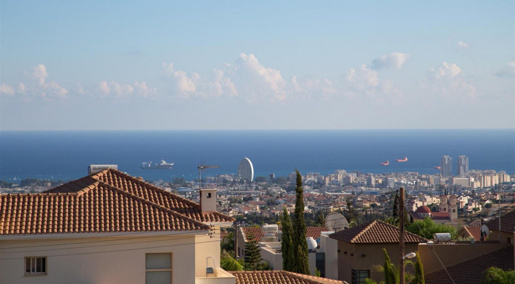 Элитная Современная Вилла с Захватывающим Видом на Море в Районе  Sfalaggiotissa - 11