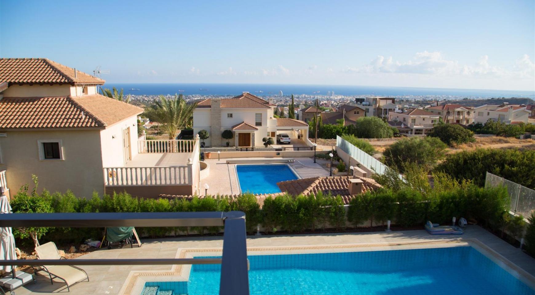 Элитная Современная Вилла с Захватывающим Видом на Море в Районе  Sfalaggiotissa - 7