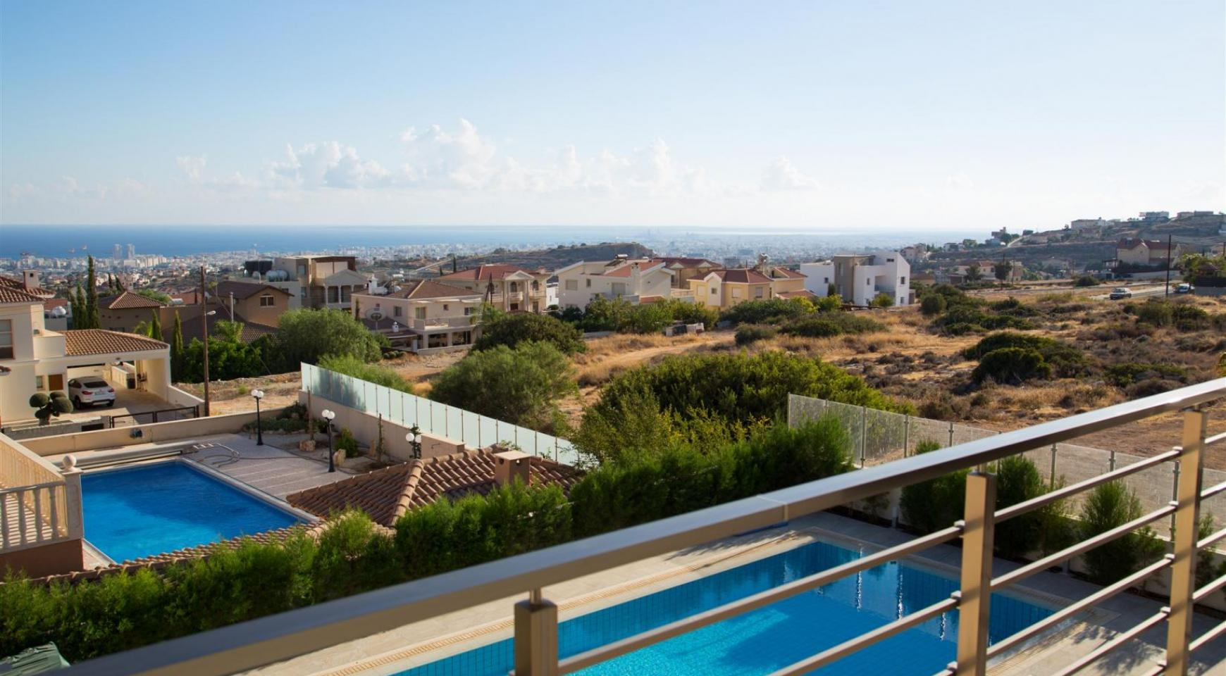 Элитная Современная Вилла с Захватывающим Видом на Море в Районе  Sfalaggiotissa - 9