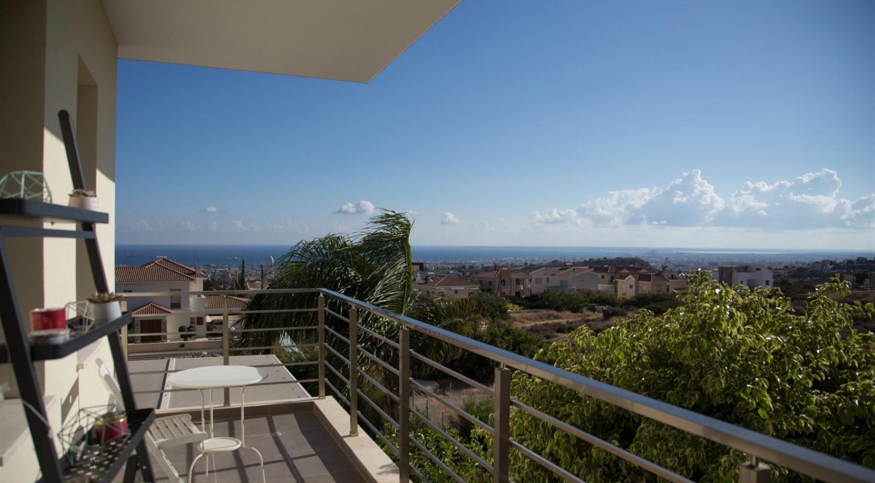 Элитная Современная Вилла с Захватывающим Видом на Море в Районе  Sfalaggiotissa - 12
