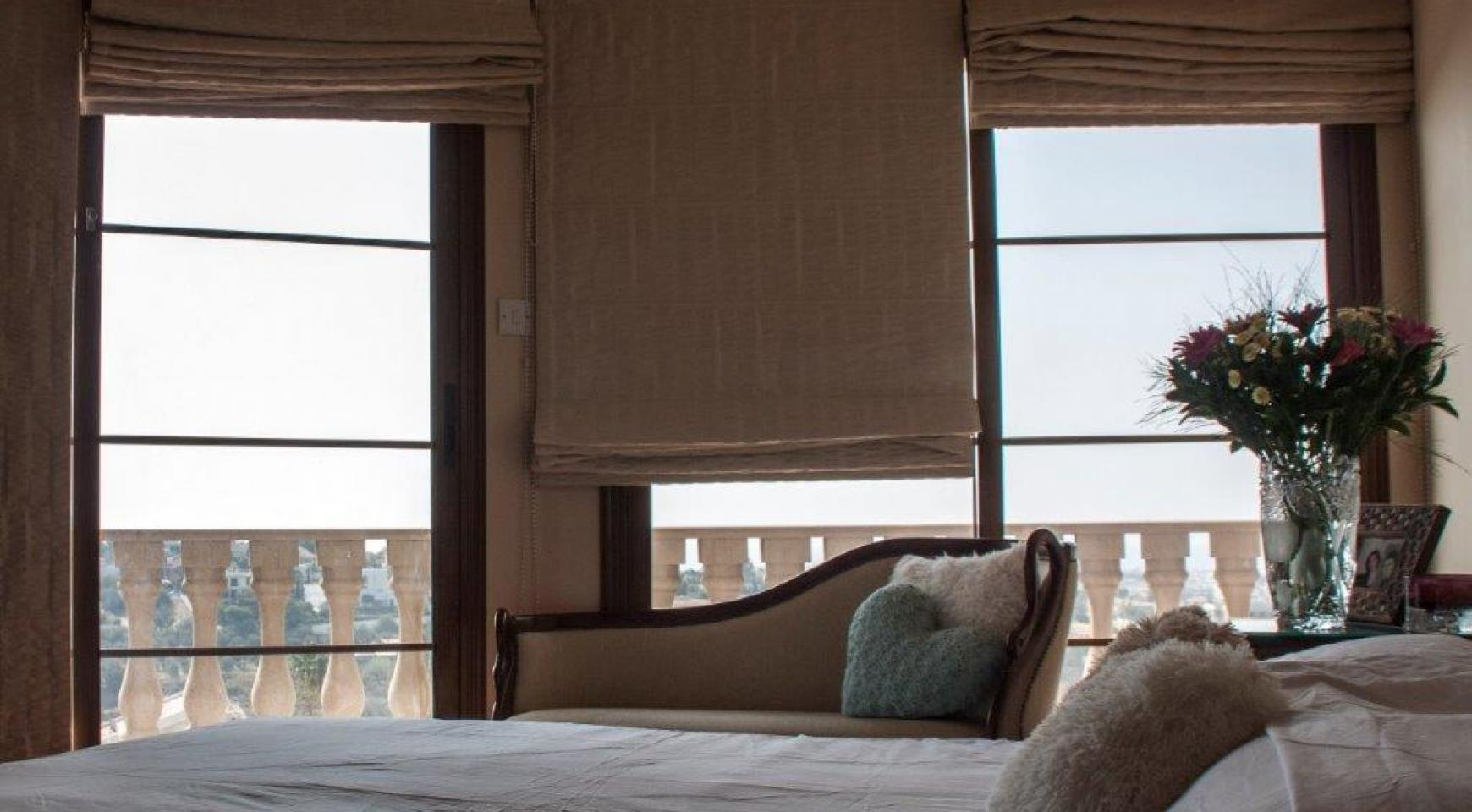 4-Спальная Вилла в Классическом Стиле с Видом на Море в Районе  Mesovounia - 15