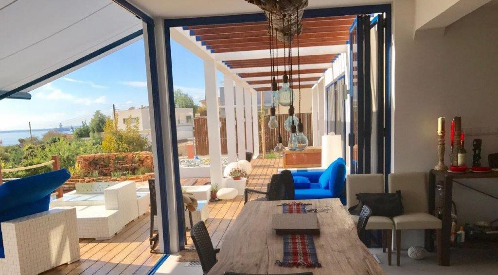 5-Спальная Вилла с видом на Море в районе  Agios Tychonas - 9