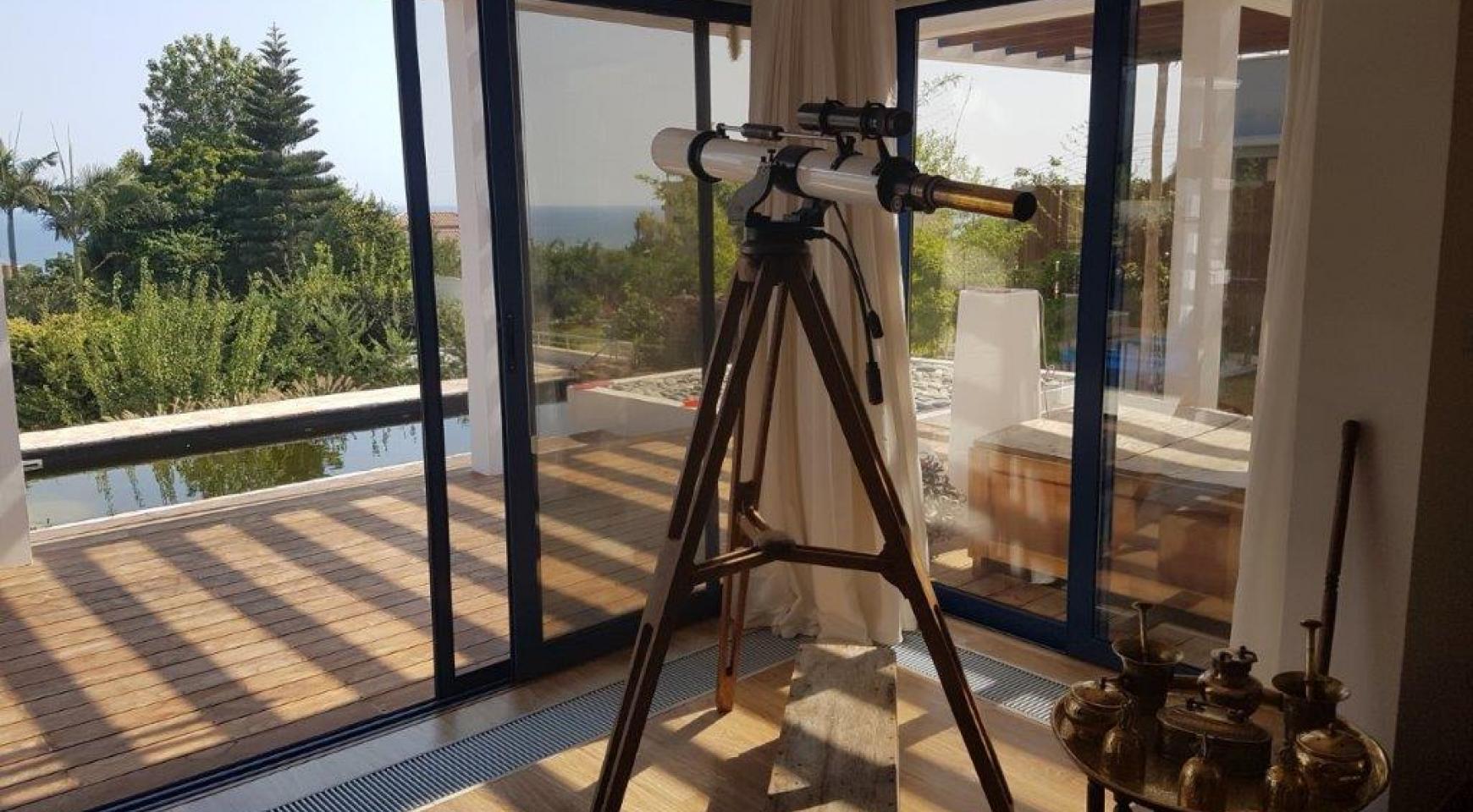 5-Спальная Вилла с видом на Море в районе  Agios Tychonas - 13