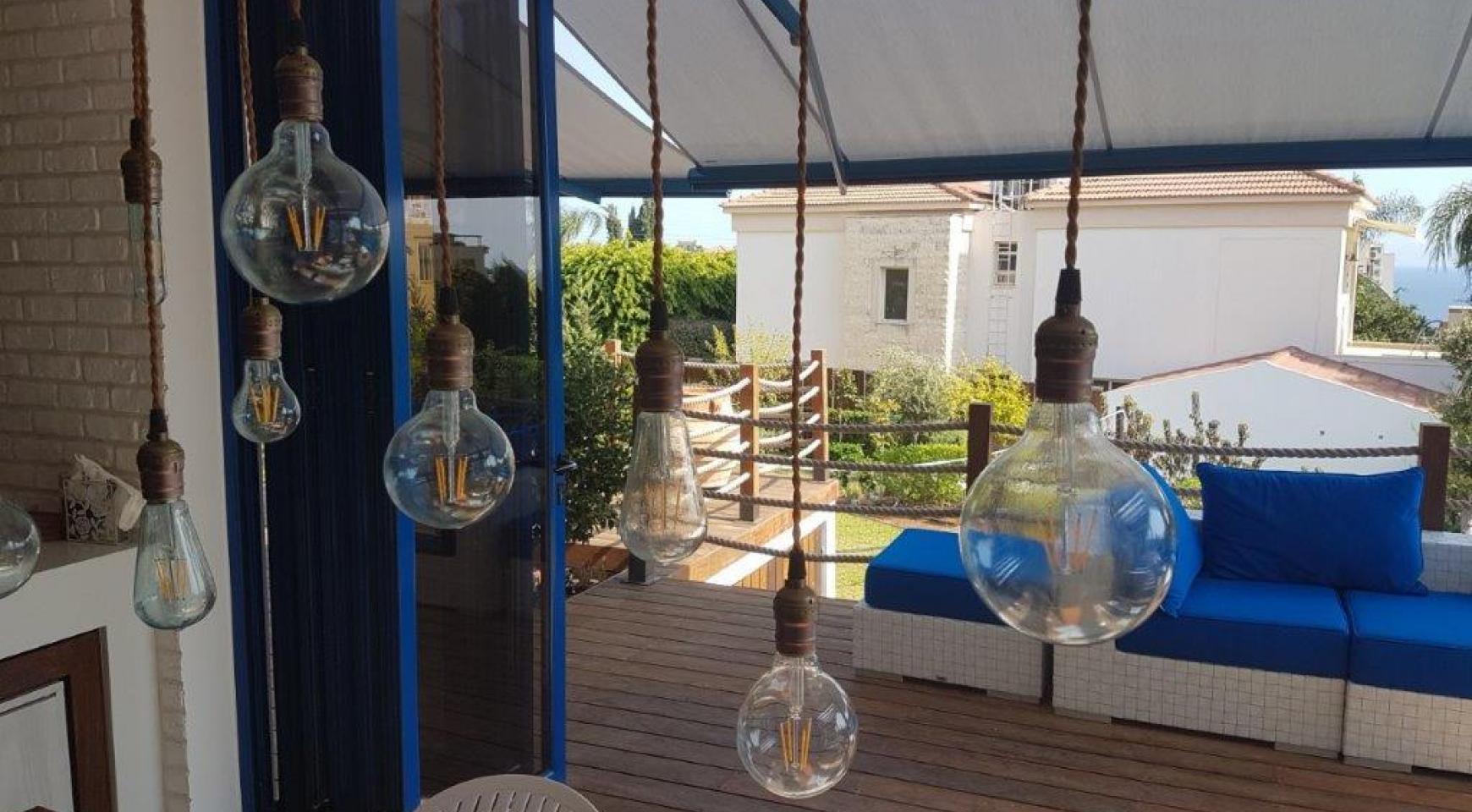 5-Спальная Вилла с видом на Море в районе  Agios Tychonas - 7