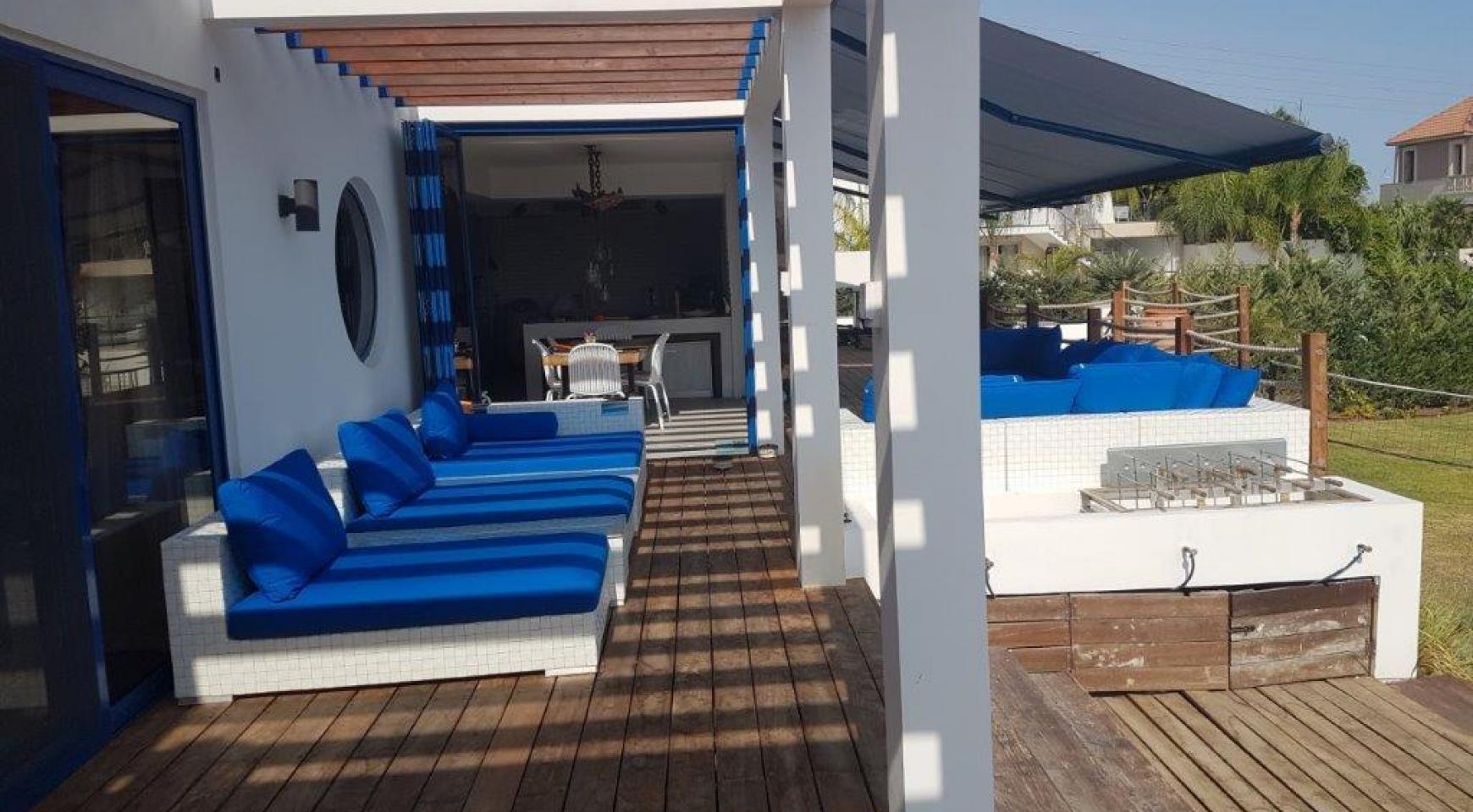 5-Спальная Вилла с видом на Море в районе  Agios Tychonas - 4
