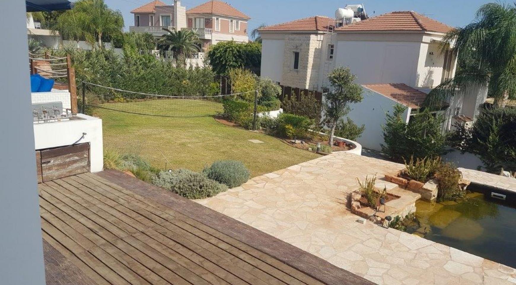 5-Спальная Вилла с видом на Море в районе  Agios Tychonas - 2
