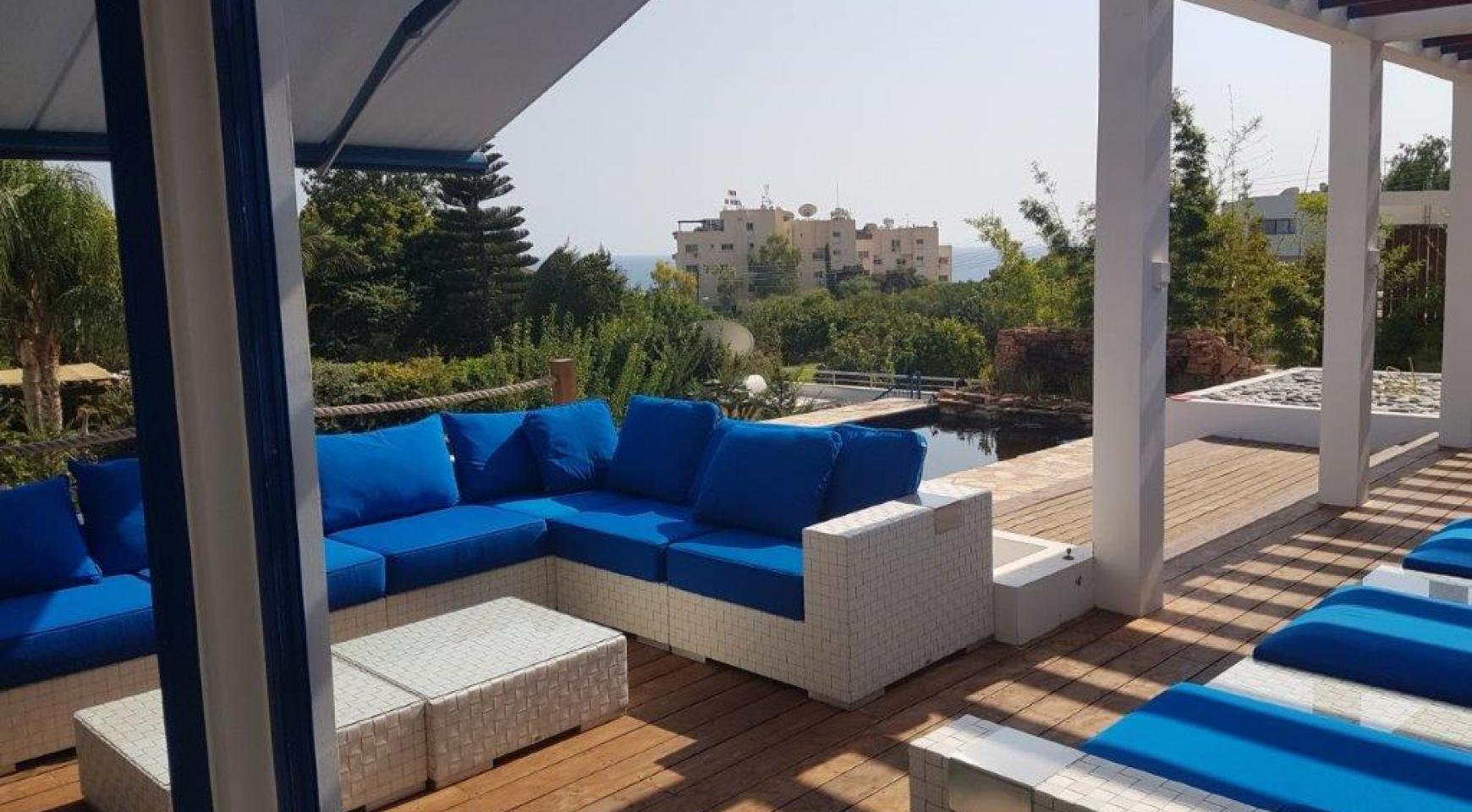 5-Спальная Вилла с видом на Море в районе  Agios Tychonas - 5