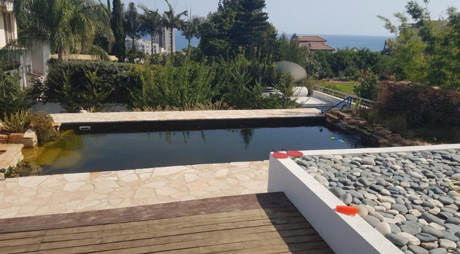 5-Спальная Вилла с видом на Море в районе  Agios Tychonas - 8
