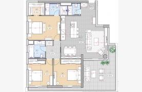 Современная 3-Спальная Квартира в Новом Комплексе возле Моря - 18