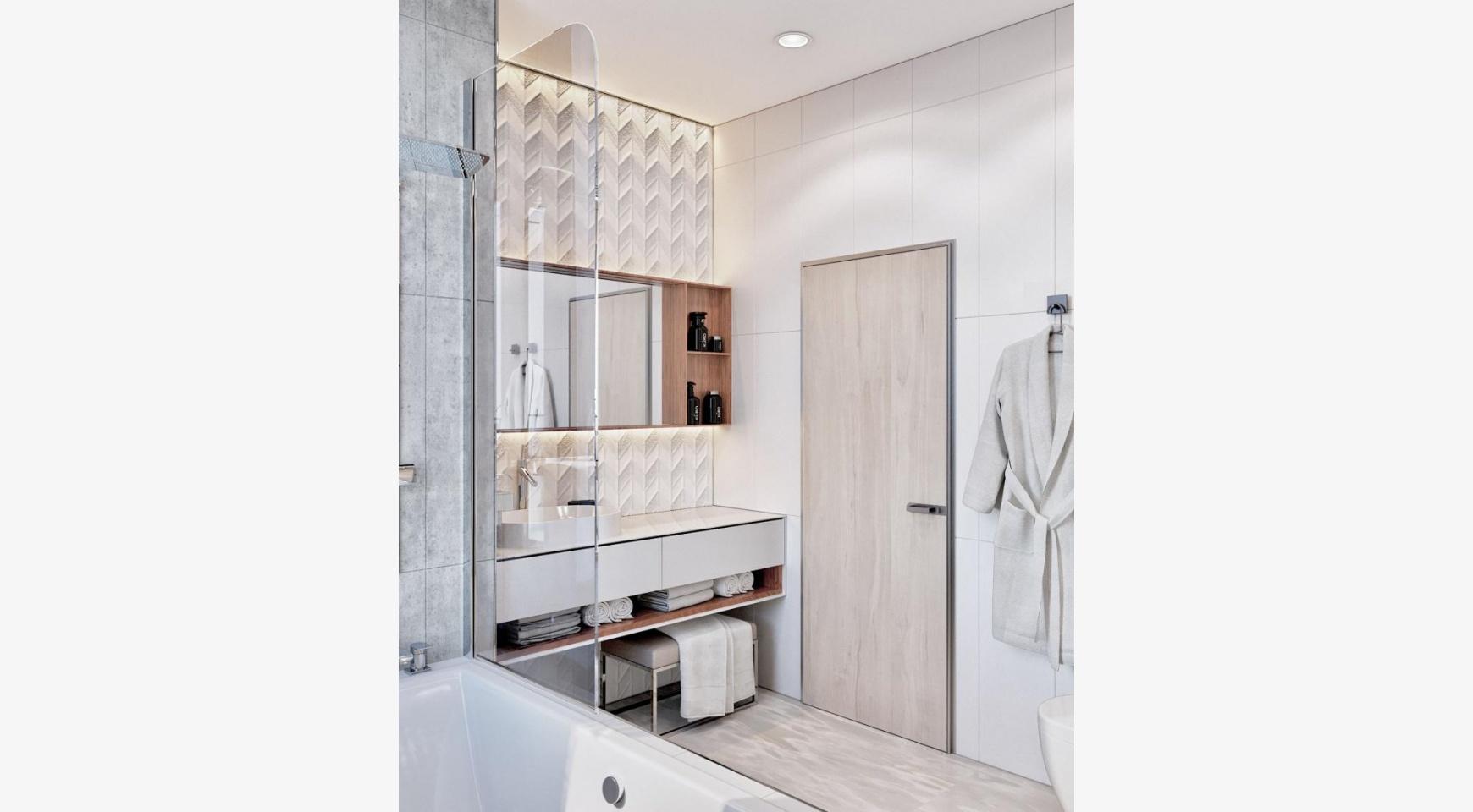 Современная 3-Спальная Квартира в Новом Комплексе возле Моря - 5