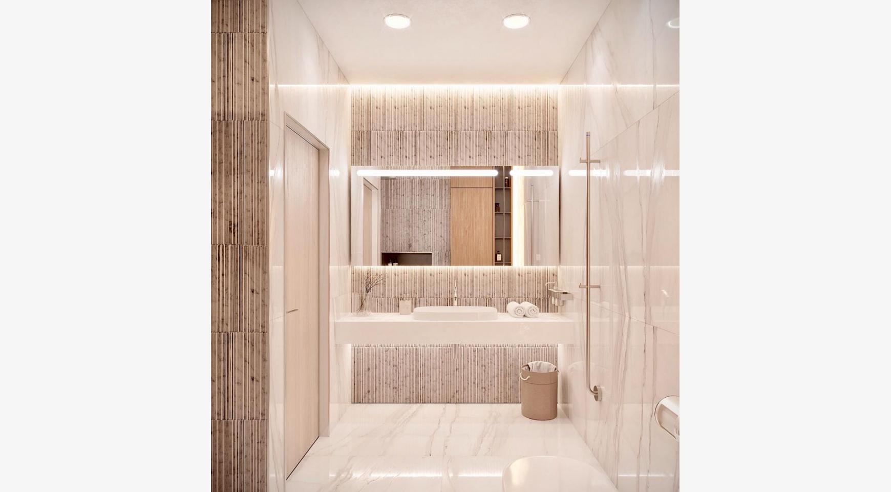 Cовременная 2-Спальная Квартира в Новом Комплексе возле Моря - 6