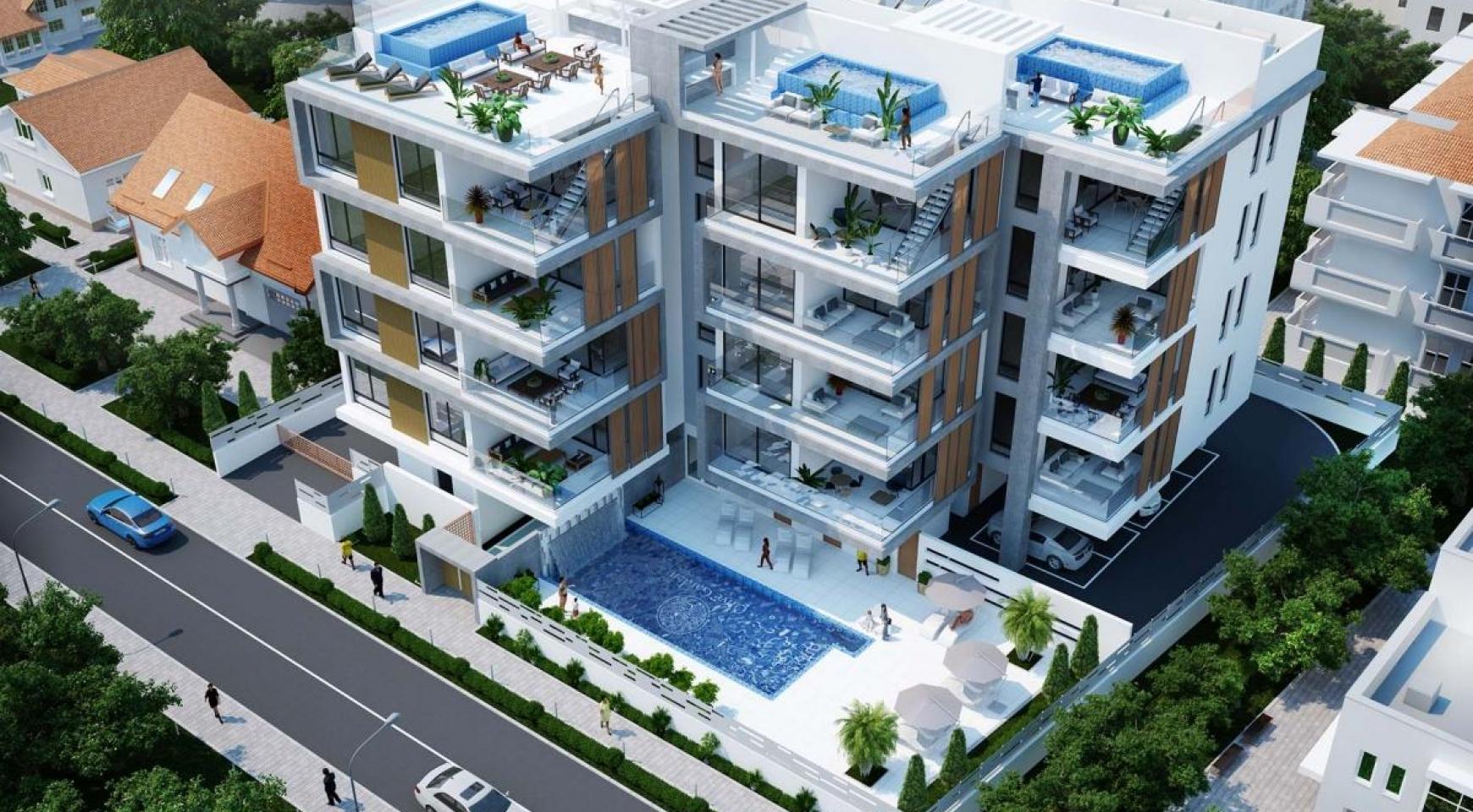 Cовременная 2-Спальная Квартира в Новом Комплексе возле Моря - 8