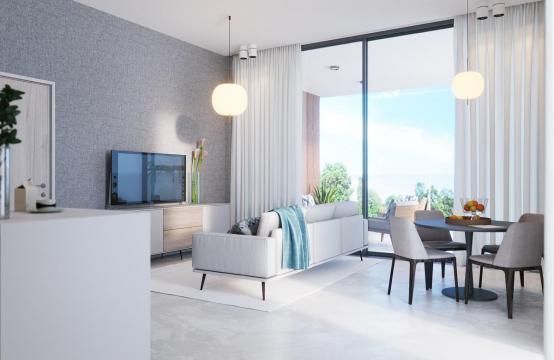 Cовременная 2-Спальная Квартира в Новом Комплексе возле Моря