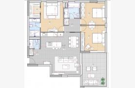 Современный 3-Спальный Пентхаус в Новом Комплексе возле Моря - 17