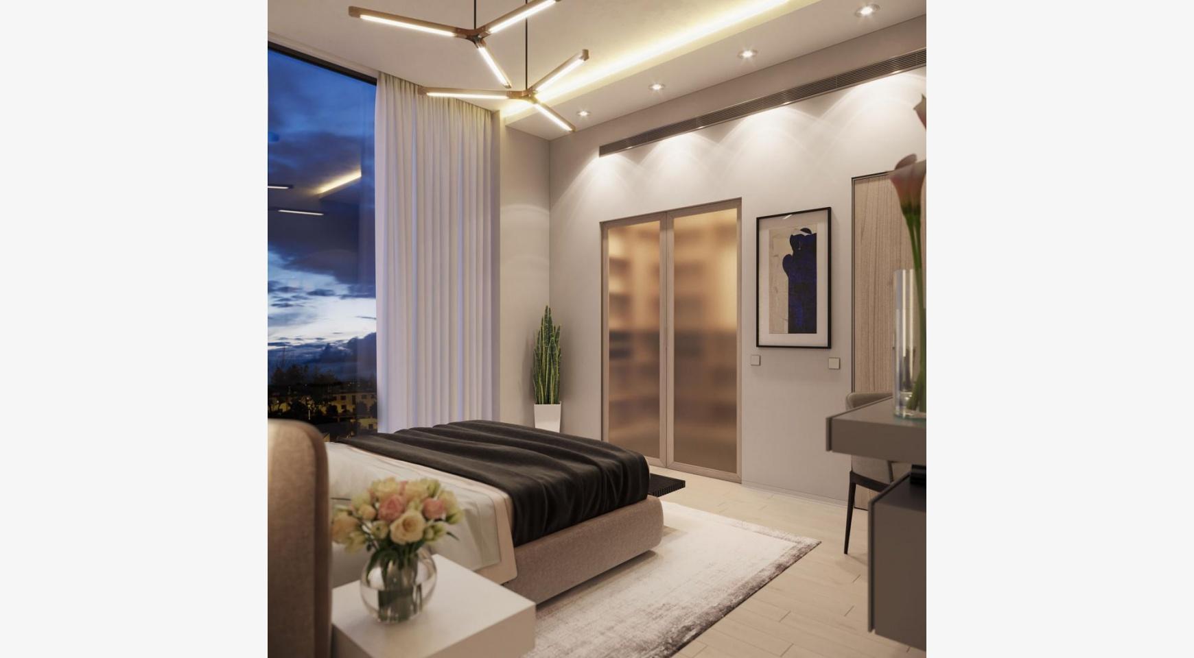 Cовременный 2-Спальный Пентхаус в Новом Комплексе возле Моря - 4