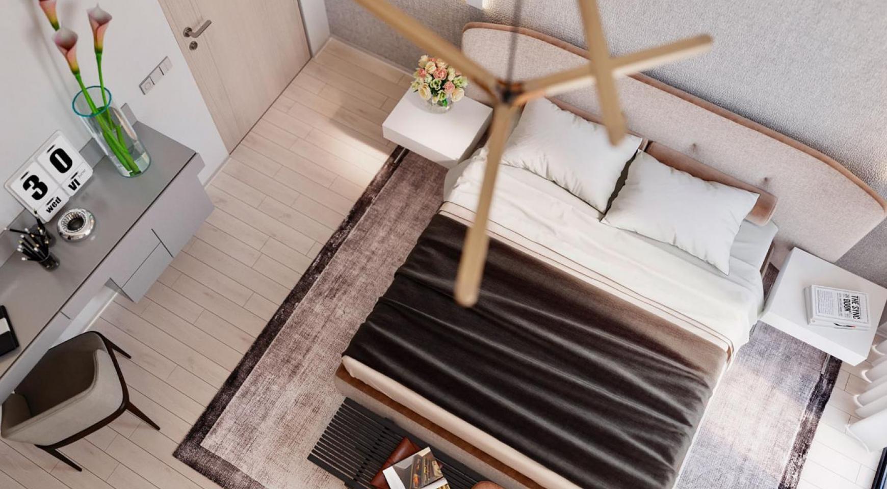 Cовременный 2-Спальный Пентхаус в Новом Комплексе возле Моря - 5