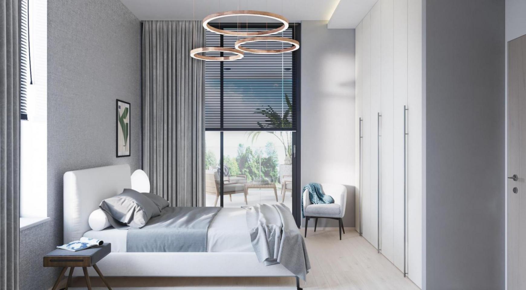 Современная 3-Спальная Квартира в Новом Комплексе возле Моря - 4