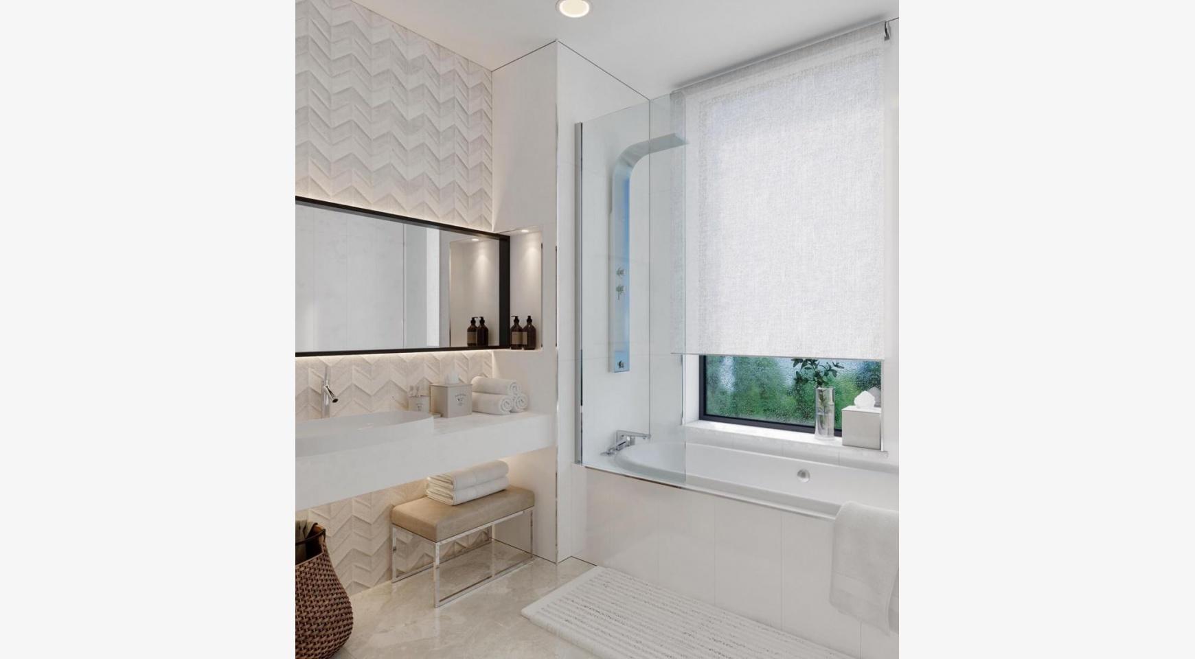 Современная 3-Спальная Квартира в Новом Комплексе возле Моря - 7