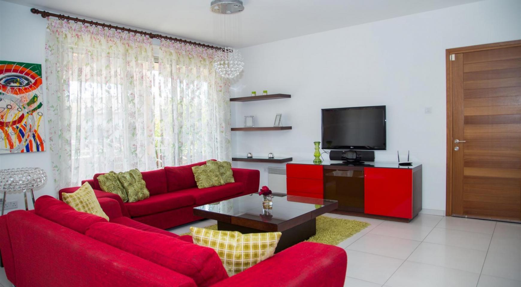 Красивая Двухуровневая 2-Спальная Квартира в Комплексе возле Моря - 5
