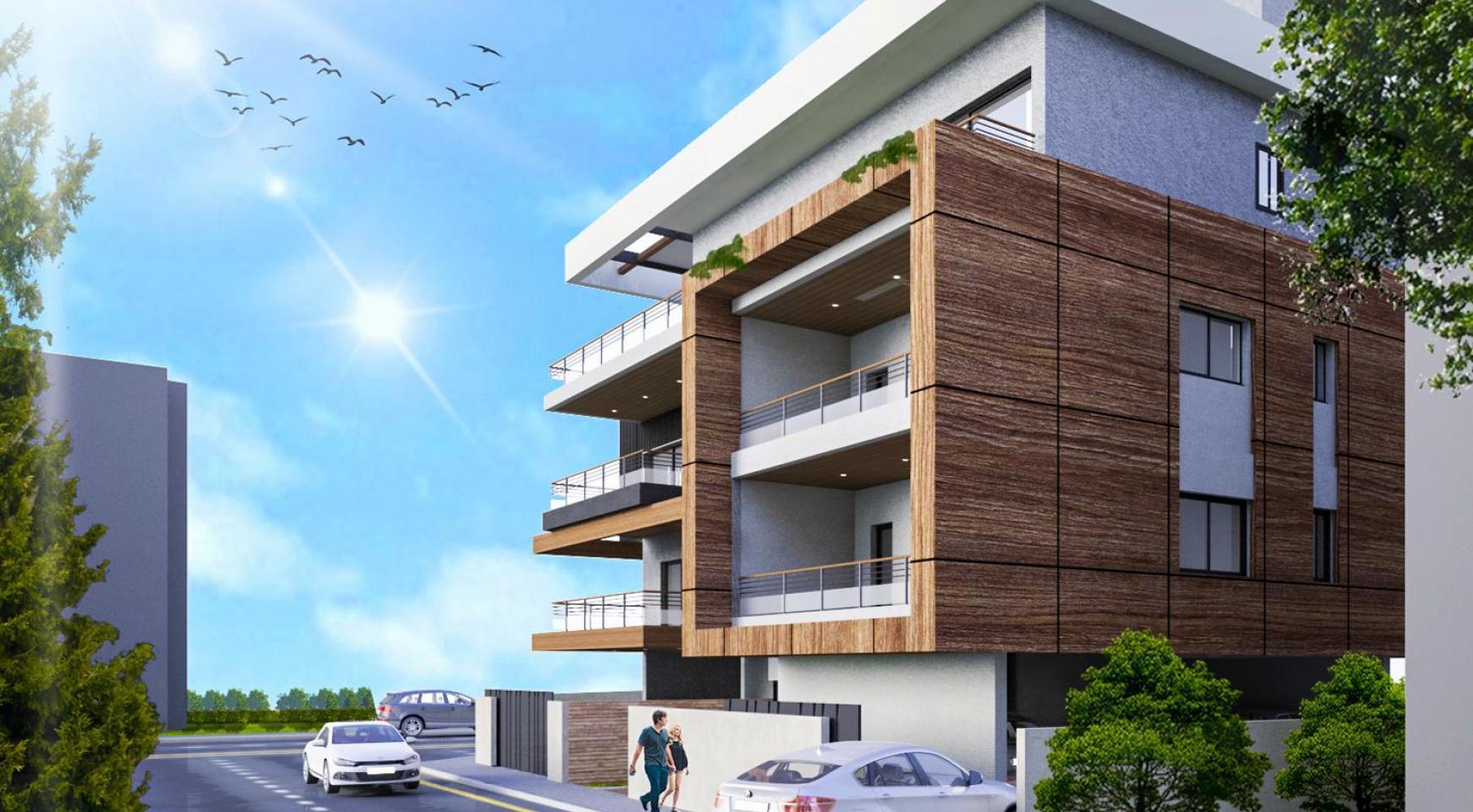 Новая 2-Спальная Квартира в Современном Здании в Районе Columbia  - 1