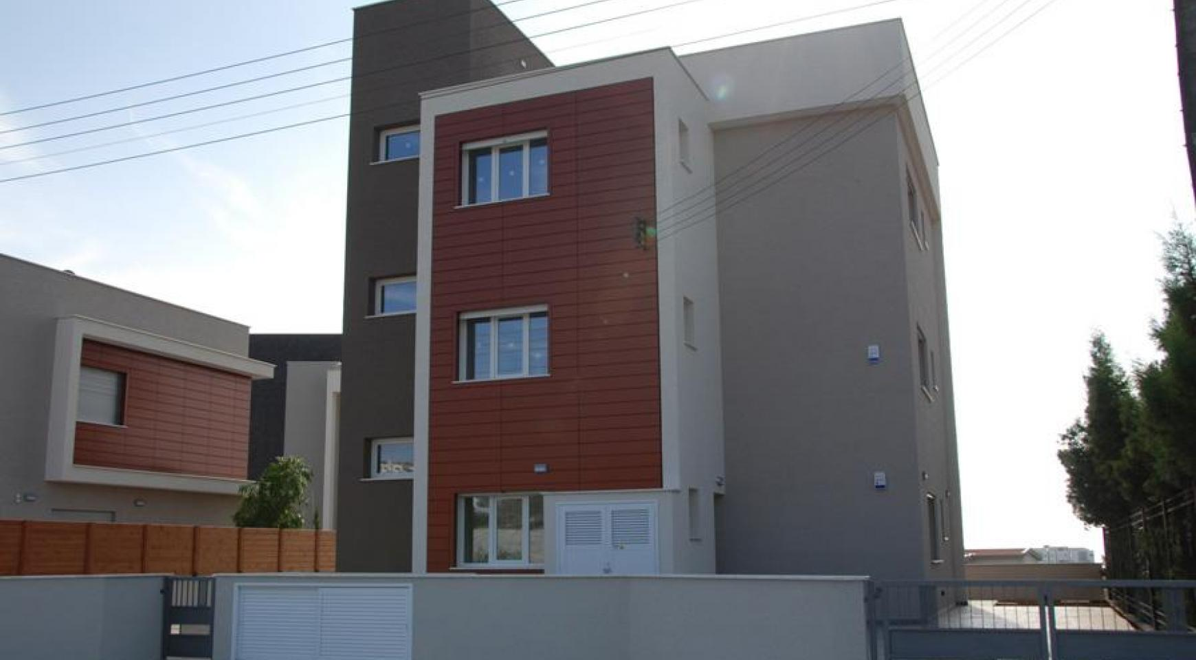 Новая 3-Спальная Квартира в Районе Germasogeia - 2
