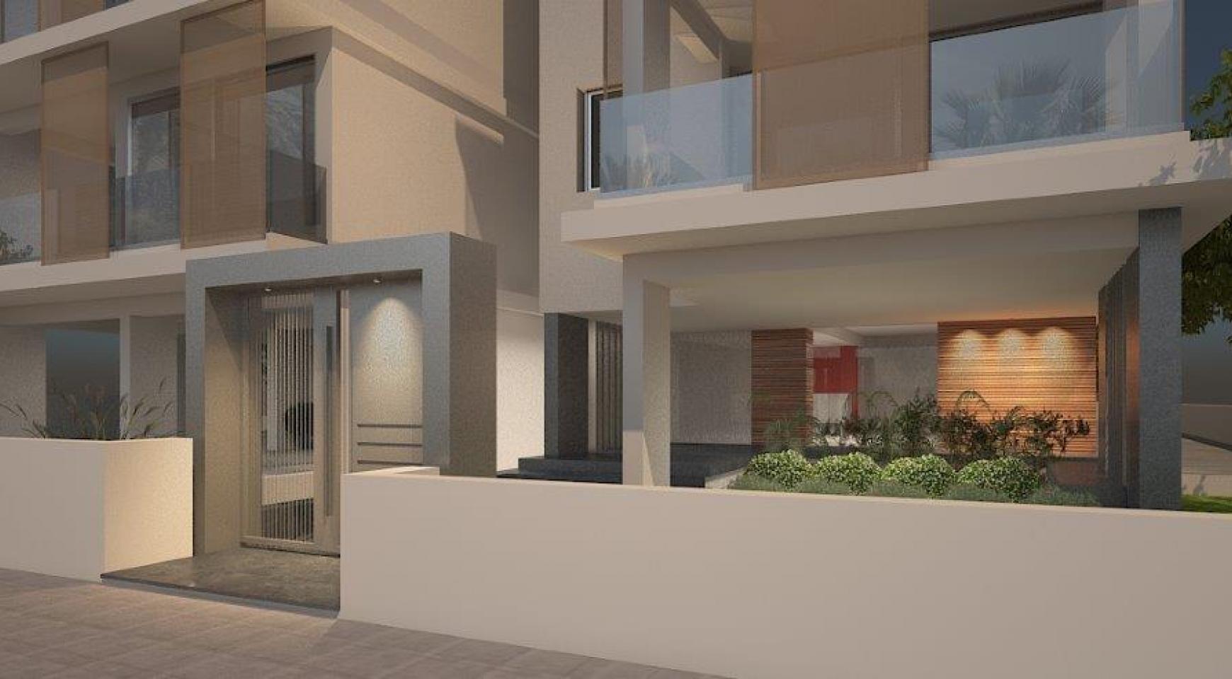 Современная 2-Cпальная Квартира в Новом Здании в Центре Города - 8