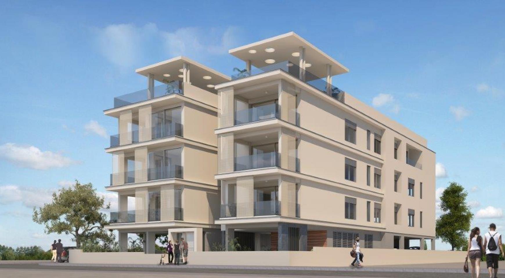 Современная 2-Cпальная Квартира в Новом Здании в Центре Города - 6