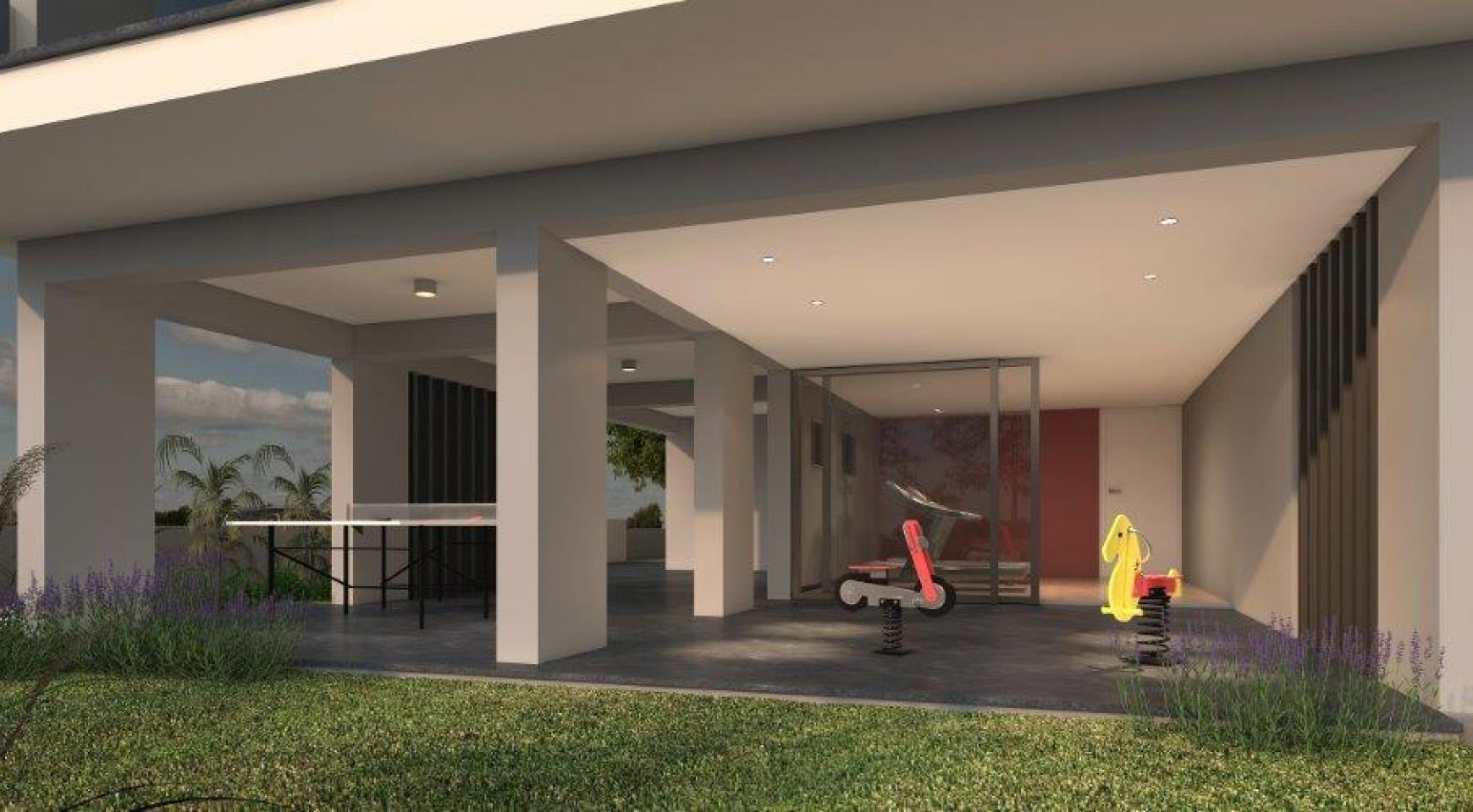 Современная 2-Cпальная Квартира в Новом Здании в Центре Города - 10
