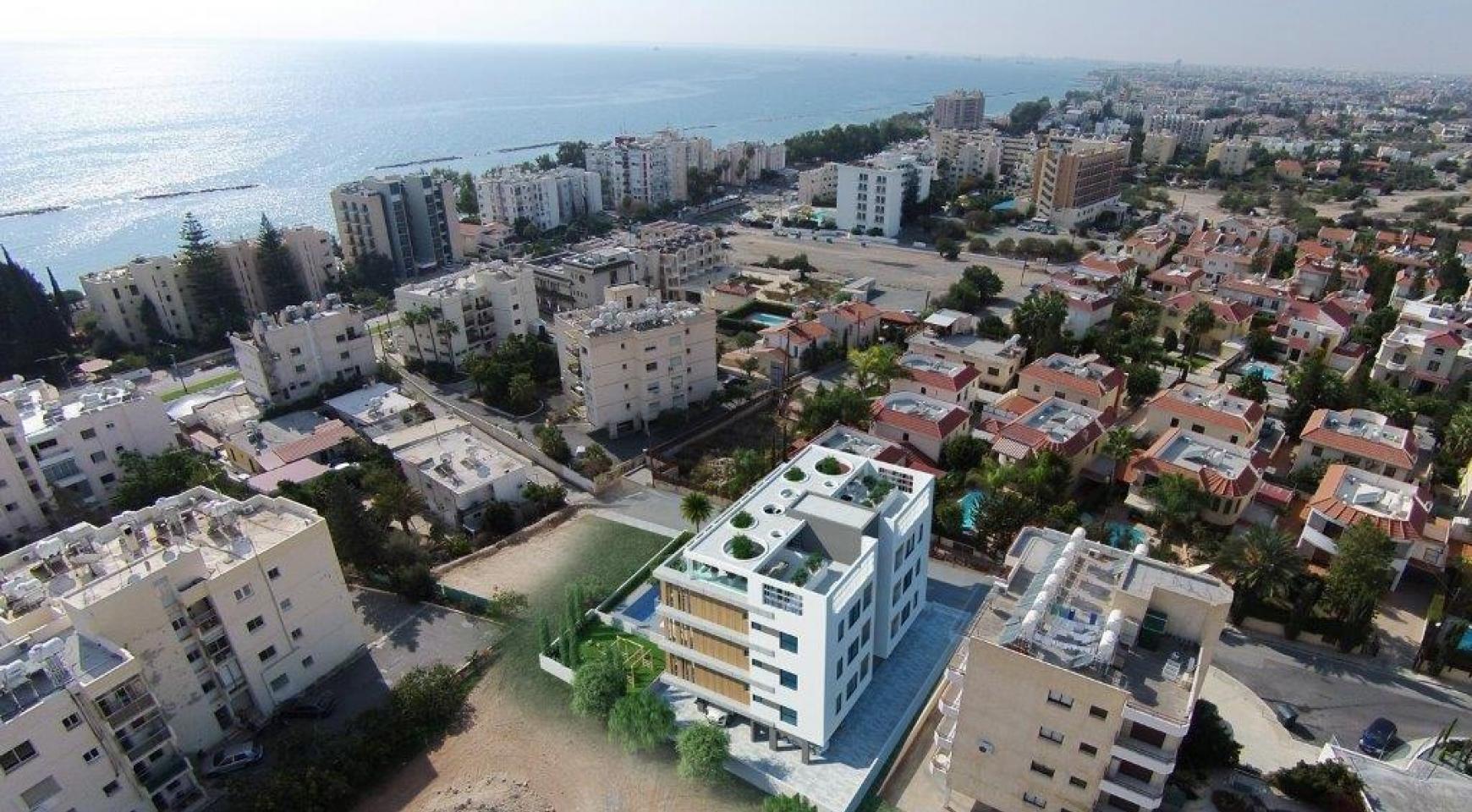 Новая 3-Спальная Квартира в Районе Agios Tychonas - 8