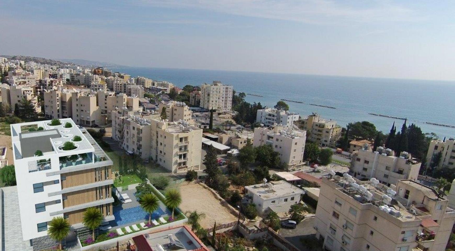 Новая 3-Спальная Квартира в Районе Agios Tychonas - 6
