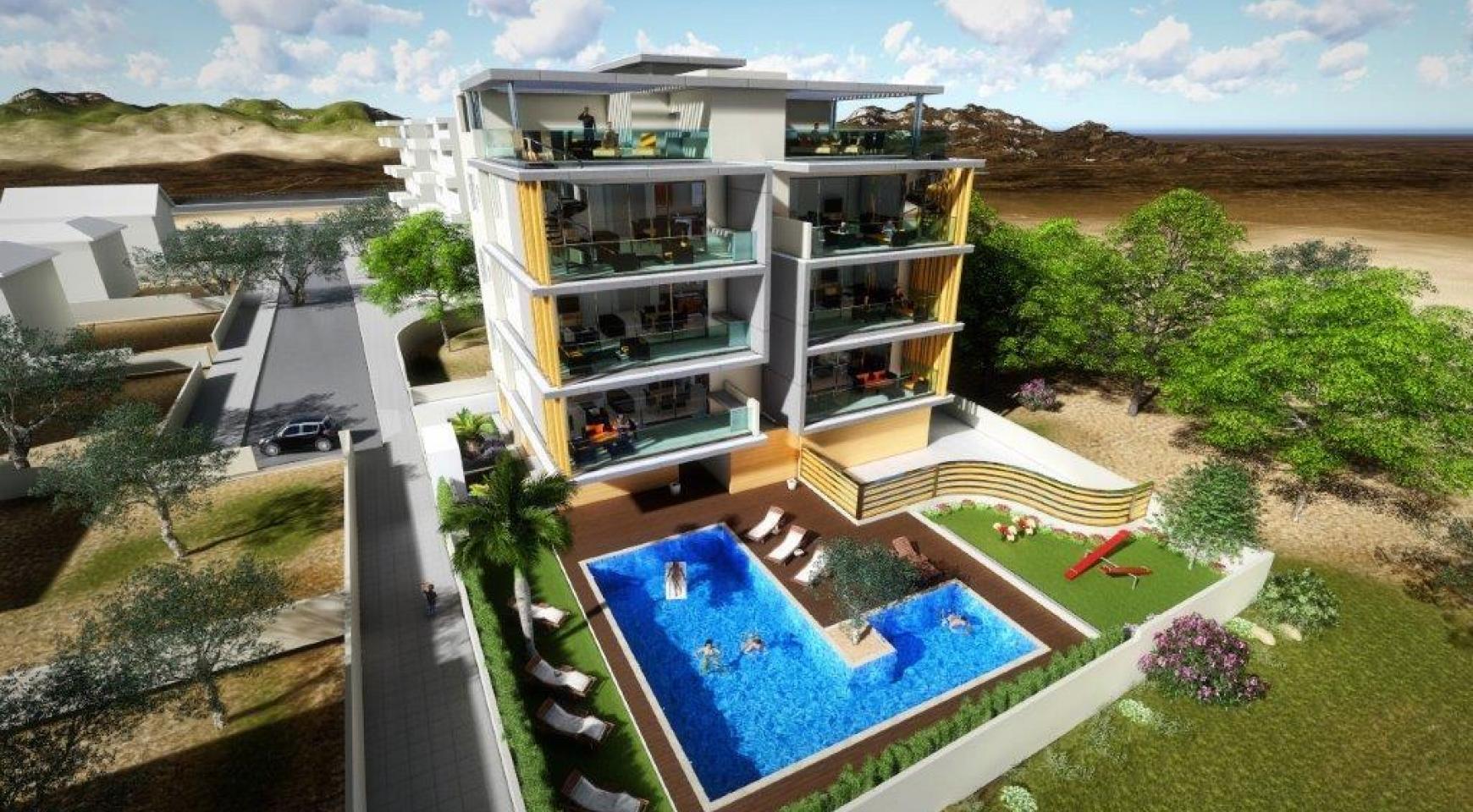 Новая 3-Спальная Квартира в Районе Agios Tychonas - 11