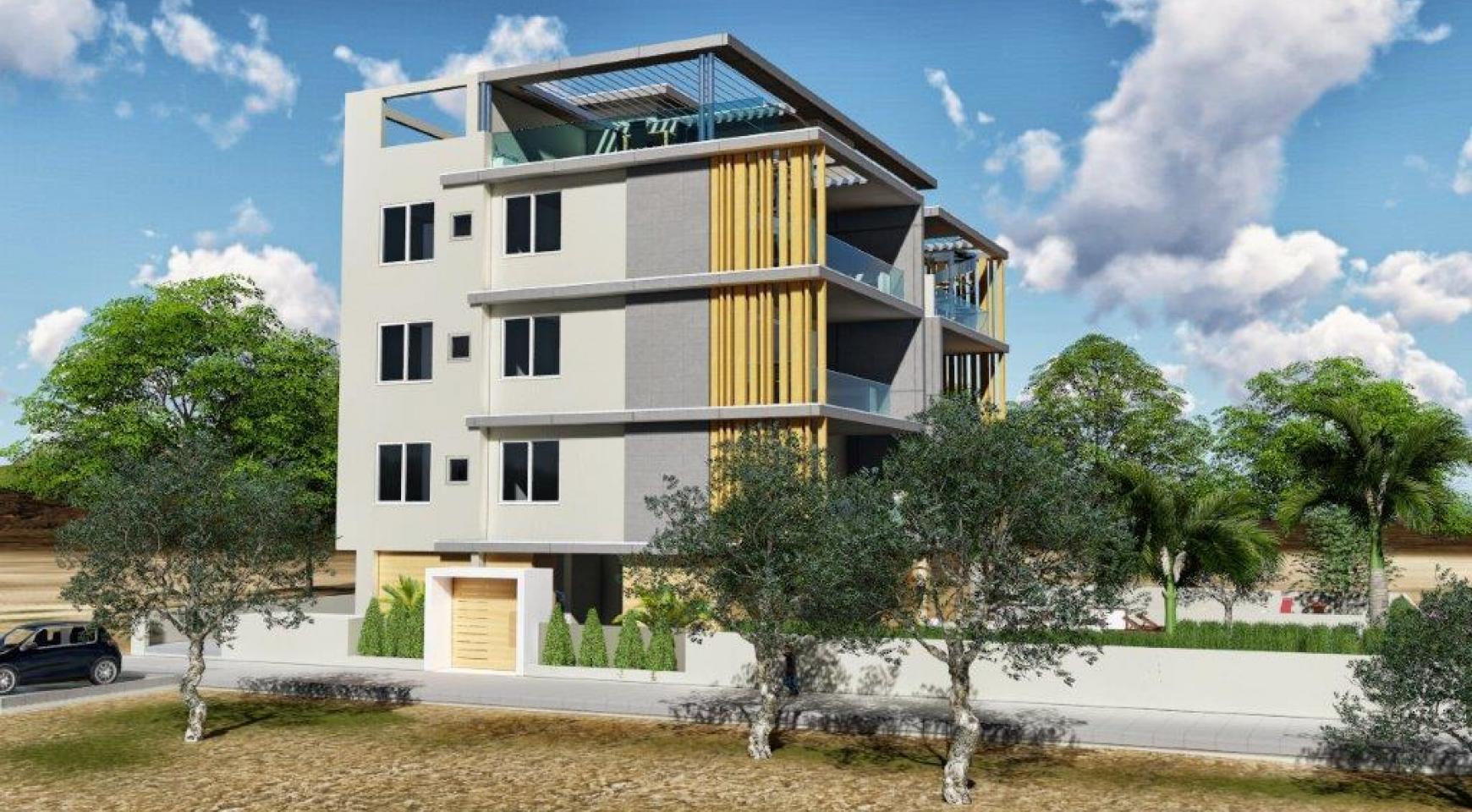 Новая 3-Спальная Квартира в Районе Agios Tychonas - 4